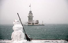 Snowman and the Maiden's Tower=)