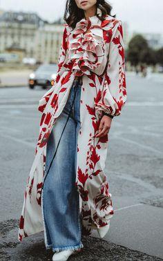 Cape Of Good Hope Silk Crepe Kimono #edgy #fashion #womensfashion #womenswear #stylist #luxuryfashion #style