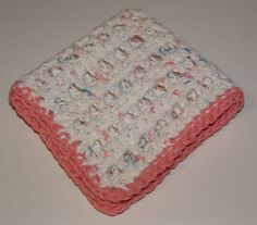 dish cloth crocheted