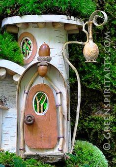 Greenspirit Искусств fairy house