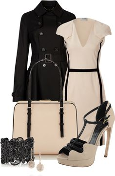 """Black & Tan"" by happygirljlc on Polyvore"