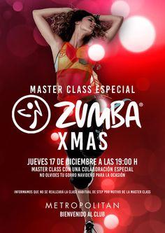 Master Class de Zumba en Metropolitan Palacio Santa Ana.