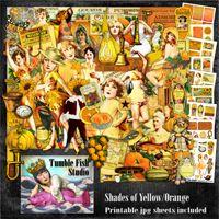 Tumble Fish Studio Shades of Yellow/Orange kit