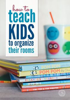 Believe it or not, it is possible to teach your kids to clean their rooms. One of the most important aspects on your part is to be consistent with your teaching and your consequences. Here are some tips to help teach your kids to organize their rooms. Chores For Kids, Activities For Kids, Activity Ideas, Educational Activities, Parenting Advice, Kids And Parenting, How To Teach Kids, Kids Room Organization, Help Teaching