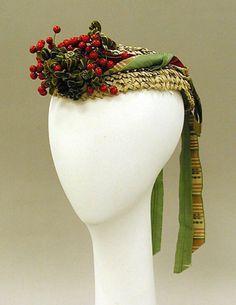 Hat  1867-1868  The Metropolitan Museum of Art
