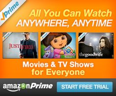 Amazon Prime: Free 30 DayTrial - FREE Kindle Books, Movies and more!