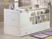 ŁÓŻKO, KTÓRE ROŚNIE RAZEM Z DZIECKIEM: Łóżko dla dziecka z funkcją pokoju?! Na rynku już są takie meble.