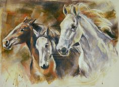 WILD HORSES By ' 6 COWGIRL 6 '