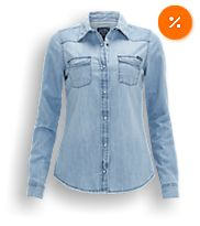 2a1b45761a9f9ec9b0bce72bc056dcbc  denim blouse the sting - Zwart Wit Gestreepte Broek The Sting