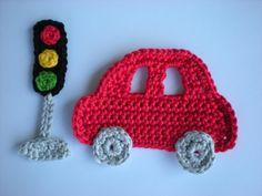 Crochet Applique Patterns Free, Baby Knitting Patterns, Free Pattern, Crochet Teddy, Crochet Books, Crotchet, Beaded Earrings, Crochet Necklace, Texture