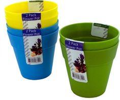 Plastic Flower Pots Case Pack 24