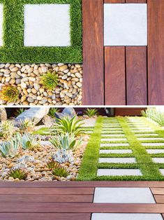 8 Elements To Include When Designing Your Zen Garden // Grass -- whether it is natural or artificial, including a small amount of grass softens up the backyard and with a small amount, it can be virtually maintenance free. Japanese Garden Design, Modern Garden Design, Small Backyard Landscaping, Modern Landscaping, Meditation Garden, Garden Architecture, Artificial Plants, Garden Grass, Natural