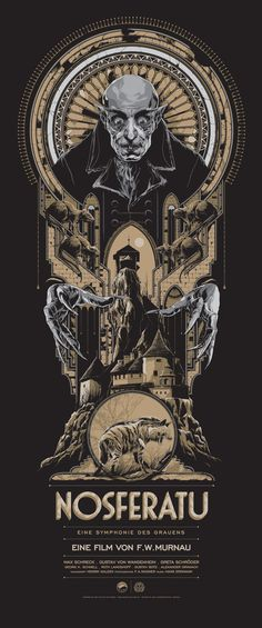 Nosferatu (Variant) Poster by Ken Taylor