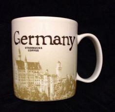 Starbucks Germany Mug Neuschwanstein Brandenburg v2 Deutschland New Icon US Ship #Starbucks