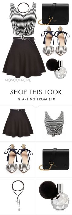 """""""MONOCHROME #1"""" by ismidilianda on Polyvore featuring New Look, J.Crew, Mulberry and Vanessa Mooney"""