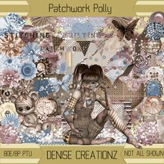 Denise Creationz: Patchwork Polly