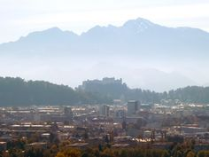 Salzburg-Blick auf Festung von Maria Plain Salzburg, River, Outdoor, Vacation, Outdoors, Outdoor Games, Outdoor Living, Rivers