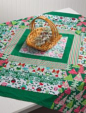 Youre so Square Table Topper - free pattern download - must create an account to access patterns