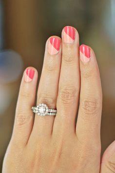pink/pink nails