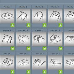 Gokart Plans 635992778603640995 - Roll cage templates module for Bend-Tech Pro and SE software, tube bending and fabrication software Source by Mini Buggy, Kart Cross, Go Kart Plans, Diy Go Kart, Tube Chassis, Trophy Truck, Custom Hot Wheels, Roll Cage, Kit Cars