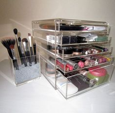 Makeup Organizer by The Makeup Box Shop - ONLY in Australia! I wish they would start shipping to the U.S. I'd love to buy some pieces