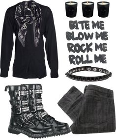 """ironfist"" by ariesbaby ❤ liked on Polyvore"