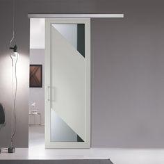 Porta scorrevole in vetro Leroy Merlin | porte vetro scorrevoli ...