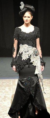 Glamoritas Model Kebaya 'Hitam' Modern   Kebaya Modern