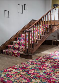 How perfect is this Alternative Flooring with Liberty Fabrics Quirky B Flowers of Thorpe! Why not try it?