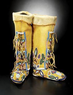 Northen Shoshone moccasins