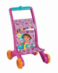 Fisher price baby dora musical stroller is a nice cute stroller for your 2-3 old girls. It has in built music to make your baby dance for dora voice.It is a nice cute pinkish stroller for your baby. Perfect fit if your baby is 2-3.5 years old.. - See more at: http://www.onestuff.com/fisher-price-baby-dora-musical-stroller/