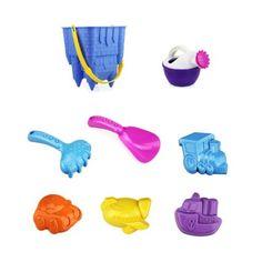 Amazon.com: Joyzenith 8 Piece Big Size Pretend Play Beach Toys a Castle Mold/Bucket Set: Toys & Games