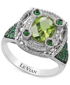 Le Vian Multi-Stone and Diamond Accent Ring in 14k White Gold (2-1/3 ct. t.w.)