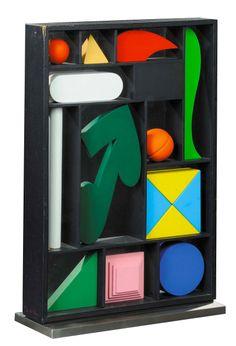 Box, Lucio del Pezzo 1988