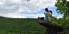 6 Pocono Hiking Trails to Experience Fall Colors Pocono Mountains, Hiking Trails, Pennsylvania, Fall, Colors, Autumn, Fall Season, Colour, Color