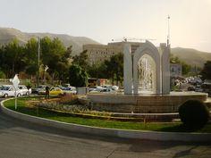 Shiraz, roundabout