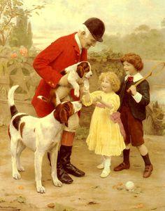 Arthur Elsley - The Huntsman's Pet