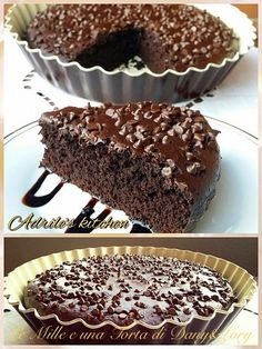 Italian Desserts, Vegan Desserts, Delicious Desserts, Cupcakes, Cake Cookies, Sweets Recipes, Cake Recipes, Sweet Light, Torte Cake