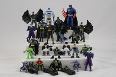 BATMAN Action Figures and Batmobile Lot DC COMICS and Misc. #Batman #SuperHero #DCcomics