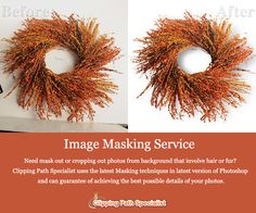 Clipping Path Specialist ensures that all your photo masking jobs are nurtured so well to give you high quality image processing experience at a very competitive price. Your masking requirements are handled by thorough professionals to give you unbeatable quality.