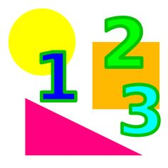 maths by slawek - numbers & shapes