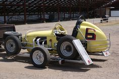 Jack Petty sprint car. Raced in IMCA, BCRA, and super modified ranks ...