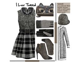 """I Luv Tweed"" by emcf3548 ❤ liked on Polyvore featuring Lanvin, GRANDOE, Juicy Couture, Oscar de la Renta and Dolce&Gabbana"