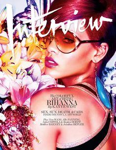 Rihanna - Interview magazine - 2010