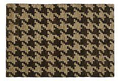 4'x6' Gauri Rug, Black/Tan on OneKingsLane.com