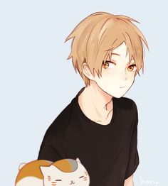Find images and videos about anime and natsume yuujinchou on We Heart It - the app to get lost in what you love. Manga Anime, Art Manga, Manga Boy, Anime Art, Anime Style, Natsume Takashi, Fantasy Magic, Natsume Yuujinchou, Cute Anime Guys