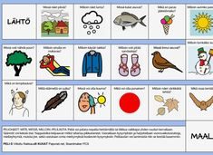 Lautapelissä vastataan kysymyksiin itsestä, luonnosta, ilmiöistä ja eläimistä. Vahvistaa vuorovaikutustaitoja. Preschool, Comics, Toddler Stuff, Kid Garden, Kindergarten, Cartoons, Comic, Preschools, Comics And Cartoons