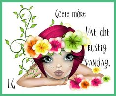 Goeie More, Woman Illustration, Good Morning Wishes, Zebras, Clowns, Arches, Clipart, Birthday Wishes, Eagles