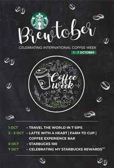 "Tata Starbucks Celebrates International Coffee Week with ""Brewtober"" Across India - Explocity - Bangalore Starbucks Rewards, My Starbucks, International Coffee, My Coffee, India, Gd, Celebrities, Goa India, Celebs"