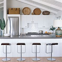 Kitchens Inspired By The Sea On Pinterest Kitchens